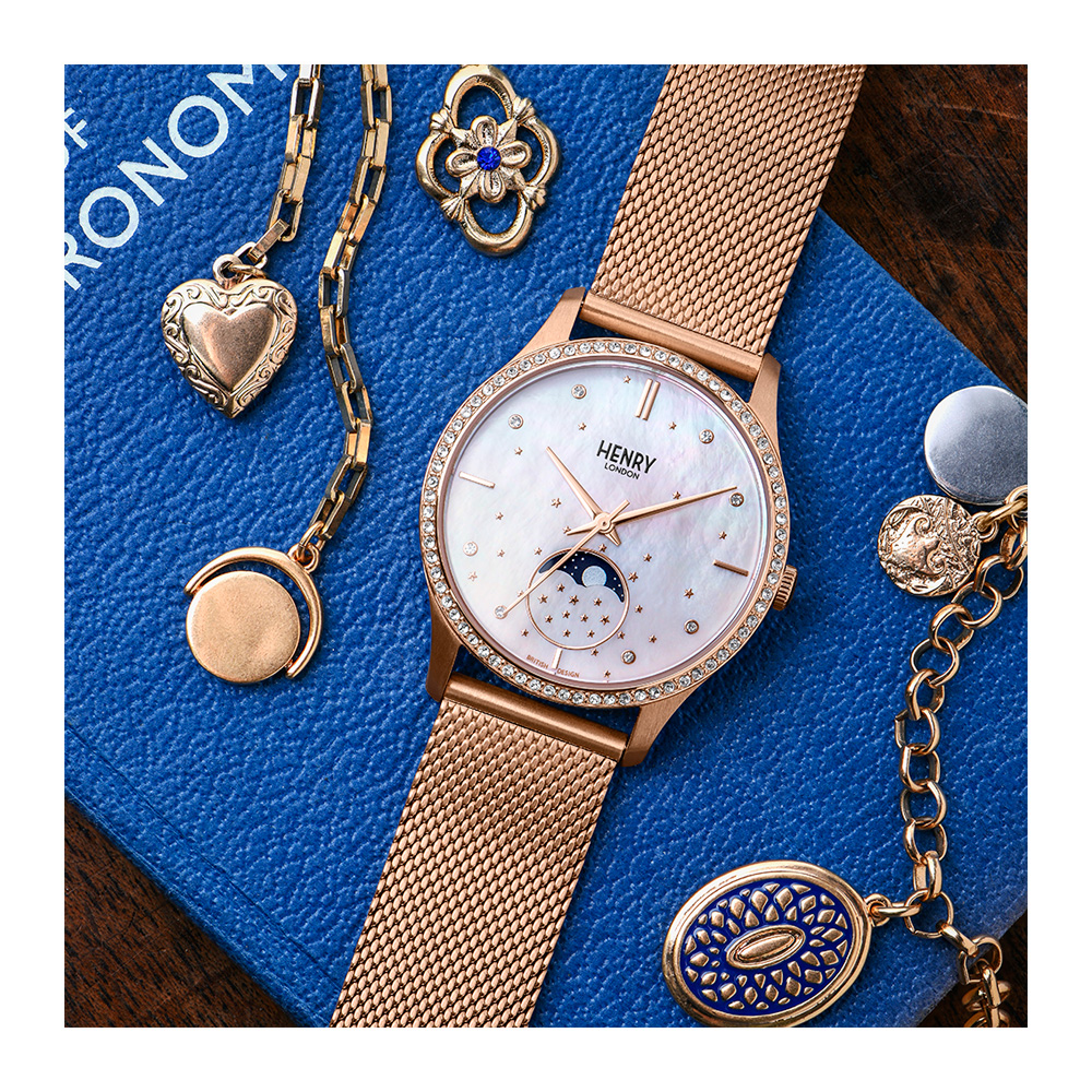 Henry London Japan Official Site / Moonphase